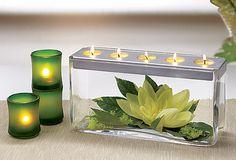 Customizable Tealight Centerpiece
