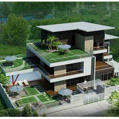 Thiết kế biệt thự vườn đa phong cách   Thiết kế biệt thự vườn