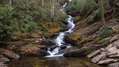 Easily reached and very beautiful - Roaring Fork Falls.