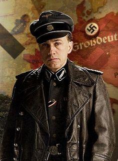 "Christoph Waltz in ""Inglourious Basterds"" (2009). DIRECTOR: Quentin Tarantino."