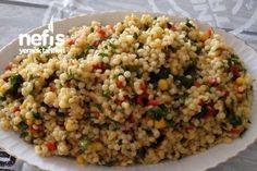 Kuskus Salatası Fried Rice, Fries, Ethnic Recipes, Food, Essen, Meals, Nasi Goreng, Yemek, Stir Fry Rice