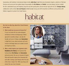 Home - Julia Day Interior Architecture and Design Contemporary Furniture, Cool Furniture, Global Design, Create Space, Interior Design Studio, Natural Texture, Creative Director, Timeless Design, Interior Architecture
