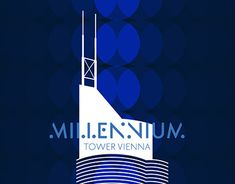 Located in Austrias capital, the phenomenal and sky-high Millennium Tower is an unmistakable component of the Viennese skyline, landmark and infrastructural center of the district. Sky High, Working On Myself, New Work, Tower, Behance, Gallery, Check, Movie Posters, Projects