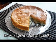 Dieta Dukan: Receita Bolo de iogurte sabor baunilha - YouTube