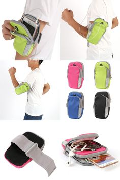 [Visit to Buy] Gym Arm Band Case Cover for iPhone 6/6 Plus 5.5inch Jogging Armband Sport Running Bag #Advertisement