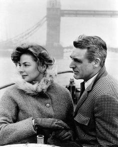 Image result for cary grant and ingrid bergman