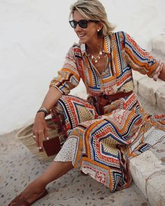 Over 60 Fashion, Over 50 Womens Fashion, Vogue Fashion, Look Fashion, Chic Outfits, Fashion Outfits, Fashion Trends, Looks Chic, Mode Inspiration