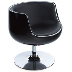 Home Deco Chair Black - (AC00130BLBL)