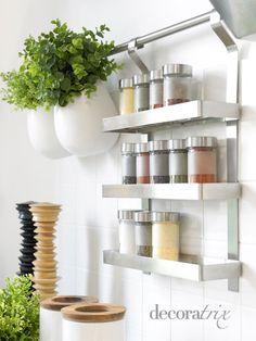 Soluciones para organizar la cocina   Decoratrix   Decoración, diseño e interiorismo