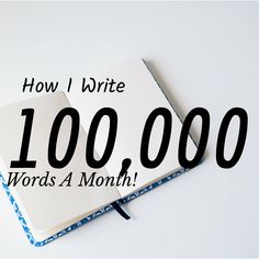 How I Write Words a Month - Hannah Truelove Writing Tips Pre Writing, Fiction Writing, Writing Advice, Writing Help, Writing A Book, Writing Prompts, Writing Images, Writing Notebook, Writing Styles