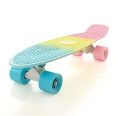 """Penny Pastel Fade 22"""" Original Plastic Skateboard, it's so perfect, and it's also the board I have!"""