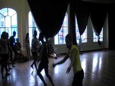 Dança Afro (Oxóssi) - Aula no Centro Coreográfico