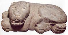 Mayan Stone Jaguar