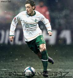 Mesut Ozil by Andrewsim7.deviantart.com on @deviantART