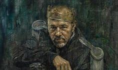 Jonathan Yeo's portrait of Kevin Spacey as Richard III. Click to see the painting at a larger size. Photograph: Jonathan Yeo/National Portra...