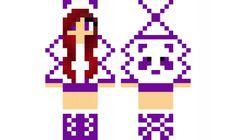minecraft skin Purple-Panda