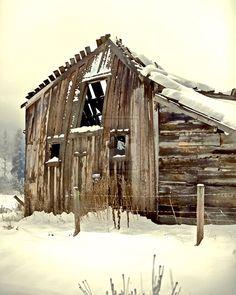 Old Barn Sleeping by izzity on @DeviantArt