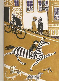 Le figure dei libri » Blog Archive » Roland, di André François,1958