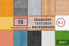 15 SEAMLESS TEXTURE Set 1 by FWStudio on @creativemarket
