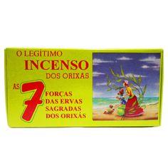 http://www.maniasemanias.com/produto/defumador-7-forcas-sagradas - DEFUMADOR 7 FORÇAS SAGRADAS - Os defumadores funcionam através do odor e fumo que se desprendem durante a sua queima, propiciando  a energia a que cada um se destina. - Função: Para todos os fins - Embalagem: caixa contendo 14 cones