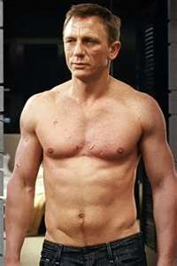 Daniel Craig.....he is a 007 after all ;o)