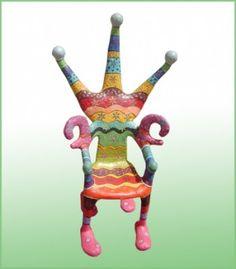 Stuhl hundertwasser hundertwasser pinterest stuhl for Stuhl design kunstunterricht