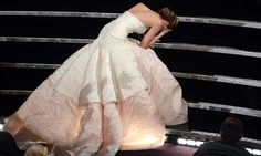 Jenifer Laurence's fall at the Oscar's only made me admire her more. Especially after her speech. She's awesome.