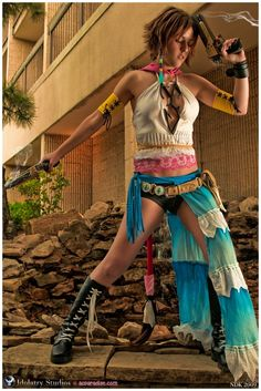 Yuna from Final Fantasy X-2. #cosplay #finalfantasy