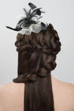 Hair Back View #Up-Dos Dream Catchers Salon LIKE us on www.facebook.com/DreamCatchersSalon and visit us at www.ellahairdesign.com