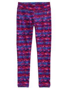 Printed Pattern Ankle Leggings | Fashion | Leggings | Shop Justice