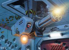 Shadowrun Card - Sentry Gun by SteamPoweredMikeJ.deviantart.com on @deviantART