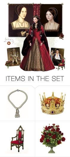 """Queen Anne Boleyn"" by greerflower ❤ liked on Polyvore featuring art"