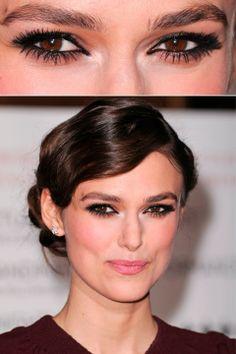 Kiera Knightley - Dramatic Eyes - Beauty - eyes - celebrity - marie claire - marie claire uk