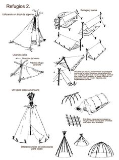 How To 9 Basic Ways To Build A Lean To Shelter Using A