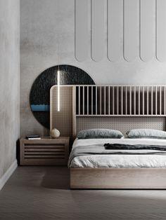 Cheap Home Decor .Cheap Home Decor Master Bedroom Interior, Bedroom Bed Design, Home Bedroom, Bedroom Decor, 60s Bedroom, Bedroom Signs, Decorating Bedrooms, Master Bedrooms, Bedroom Ideas
