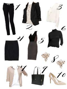 Wellesley & King - A Professional Wardrobe For Under $500 - Wellesley & King