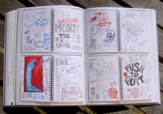 Typography Sketchbook - a compilation of sketchbooks from type and graphic designers...I have to have this book!!!!