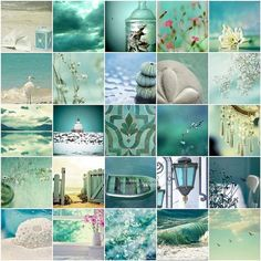 turquoise images, image search, & inspiration to browse every day. Coastal Style, Coastal Decor, Coastal Colors, Beach Cottages, Beach House Decor, Beach Themes, My Favorite Color, Shades Of Blue, Color Inspiration