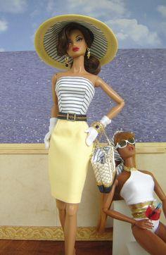 OOAK Summer Fashion for Silkstone/Fashion Royalty Dolls by Joby Originals