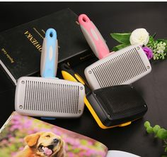 Dog comb hair removal brush samoyed golden retriever special dog hair pet comb large dog hair removal supplies artifact-roundtheclockmall Pet Products, Hair Removal, Pets, Animals And Pets, Epilating