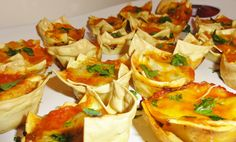 Mini Lasagna's  #Italian #Themed #Party