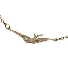 Halskette Swallow, 13€, jetzt auf Fab.