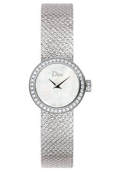 Shop the 19 of the most stylish women's watches: Dior La Mini D de Dior Satine watch