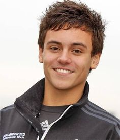 Tom Daley- when I see someone this attractive I just want to say THANK YOU SO MUCH FOR BEING BORN!