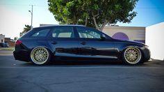 Audi A4 Wagon Slammed