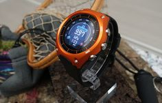 """Casio's first smartwatch is an even more rugged G-Shock - The company reinvented its own basic digital watches years ago when it introduced the G-Shock, and its taking a specialized approach with the WSD-F10: a smart outdoor watch that not only does all things Android Wear, but also has a """"timepiece"""" (or dumbwatch) mode that'll last around a month on a single charge."""