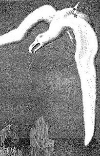 mervyn peake, illustration to 'rhyme of the ancient mariner'-Samuel T.Coleridge