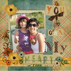 My very first digital scrapbook.. 06/11