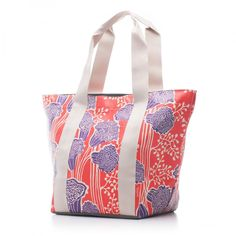 Bags & Totes: City Tote Red Letter $87