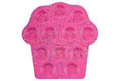 Confetti Magenta Cupcake Tray on OneKingsLane.com